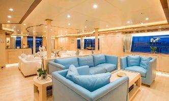 Blue Vision yacht charter Benetti Motor Yacht