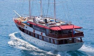 Amorena yacht charter Custom Motor/Sailer Yacht