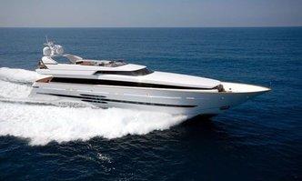 Amata yacht charter Cantieri di Pisa Motor Yacht