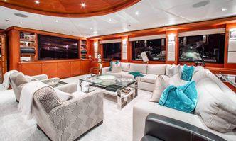 Skyfall yacht charter Trinity Yachts Motor Yacht