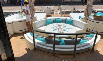 Baby June III yacht charter Overmarine Motor Yacht