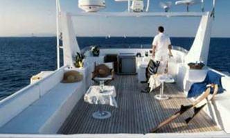 Lady K.K. yacht charter Afro Marine Motor Yacht