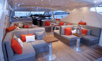 Cristal 1 yacht charter Leopard Motor Yacht