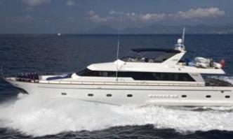 Jaan yacht charter Falcon Motor Yacht