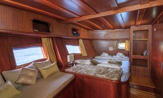 Allure yacht charter Custom Sail Yacht