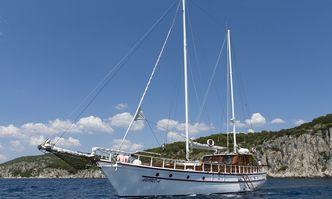 Aborda yacht charter Custom Sail Yacht
