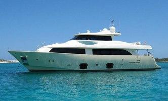 Ziacanaia yacht charter Custom Line Motor Yacht