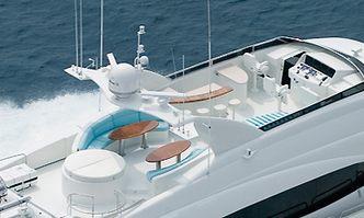 Le Reve yacht charter Lazzara Motor Yacht