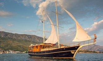 Altair yacht charter Custom Sail Yacht