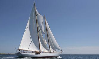 Eros yacht charter Brooks Motor Craft Sail Yacht