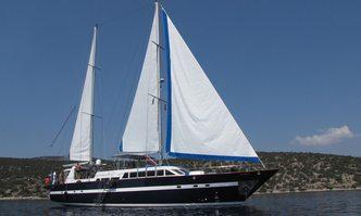 Iris PSI yacht charter Custom Sail Yacht
