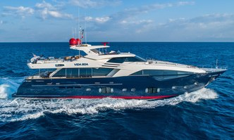 Vida Boa yacht charter Custom Line Motor Yacht