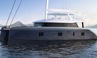Above yacht charter Sunreef Yachts Motor/Sailer Yacht