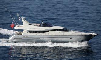 Pikes Peak yacht charter Riva Motor Yacht