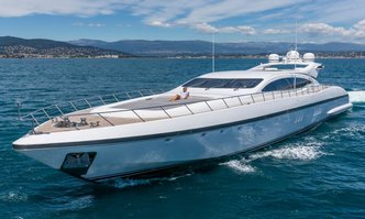 Lady B yacht charter Overmarine Motor Yacht