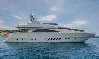 Vellmari yacht charter Dominator Motor Yacht