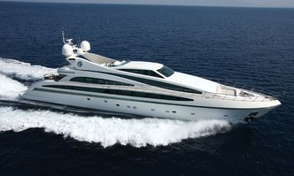 Alfa XII yacht charter ISA Motor Yacht