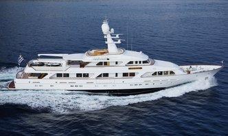 Ancallia yacht charter Feadship Motor Yacht