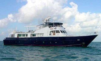 Kayana yacht charter Vosper Thornycroft Motor Yacht