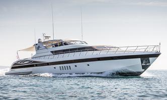 Sea Diamond yacht charter Overmarine Motor Yacht