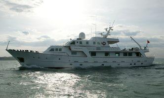South Paw C yacht charter Codecasa Motor Yacht