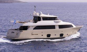 Dana yacht charter Custom Line Motor Yacht