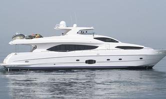Infinity 7 yacht charter Gulf Craft Motor Yacht