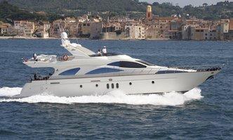 White Star yacht charter Azimut Motor Yacht