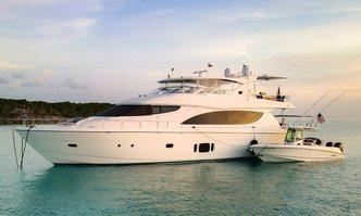Chelsea yacht charter Hatteras Motor Yacht