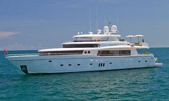 Lorax yacht charter Johnson Yachts Motor Yacht