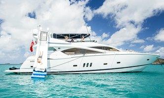 Alani yacht charter Sunseeker Motor Yacht