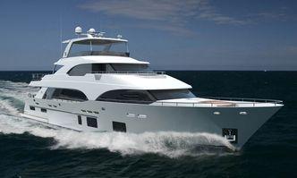 Serenity yacht charter Ocean Alexander Motor Yacht