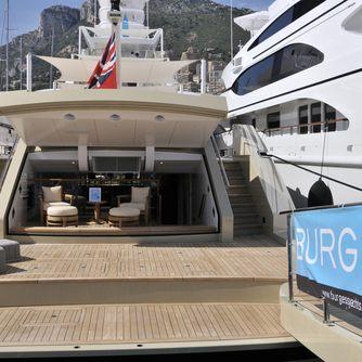 Burgess yacht at Monaco Yacht SHow