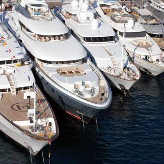 Superyacht Kismet at Monaco Yacht Show