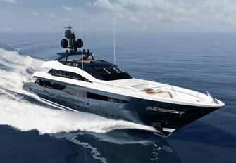 Irisha yacht charter Heesen Motor Yacht