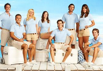 Crew onboard Honor yacht chartered for TV series