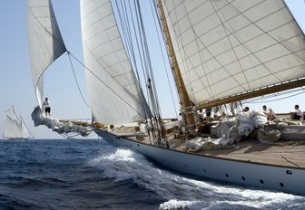 sailing yacht ELEONORA will be at the Antigua Charter Yacht Show 2017