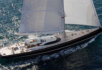superyacht Q competes in the 2017 St Barths Bucket Regatta