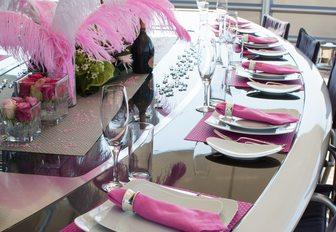 Charter Yacht 'Maltese Falcon' Wins Prestigious Table Setting Competition photo 4