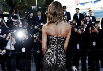 model Jordan Dunn at the Cannes Film Festival
