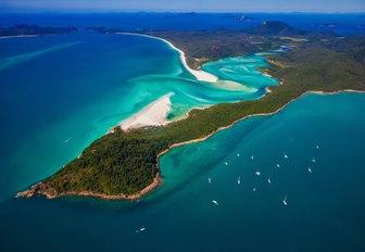 beautiful stop-off of Hamilton Island in the Whitsundays, Australia