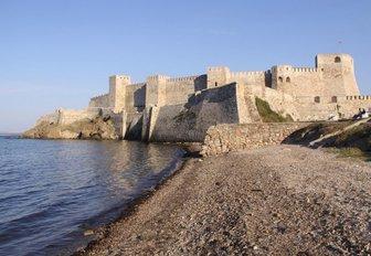 Bozcaada Castle on Bozcaada Island, Turkey