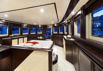 Superyacht GATSBY interiors