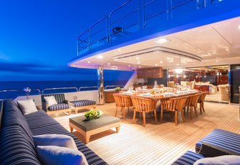 casino royale aft decks and seating area