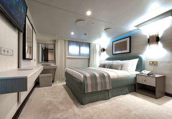 Cabin on Superyacht CHAKRA