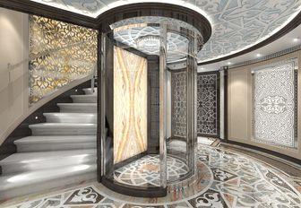 elevator on superyacht elements
