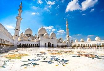 Shaikh Zayed Grand Mosque in Abu Dhabi