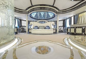 master suite of elements yacht