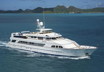 luxury yacht PRAXIS will be attending the Newport Charter Yacht Show 2017