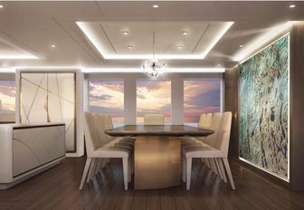 interiors triton yacht